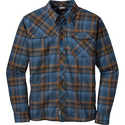 Outdoor Research Tangent Shirt - Men's, Saddle-Indigo, 256