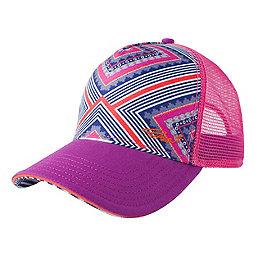 prAna La Viva Trucker Hat - Women's, Indigo Taos, 256