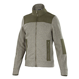Ibex Hunters Point Full Zip, Rye Heather, 256