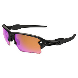 Oakley Flak 2.0 XL Sunglasses, Polished Black w- Prizm Trail, 256