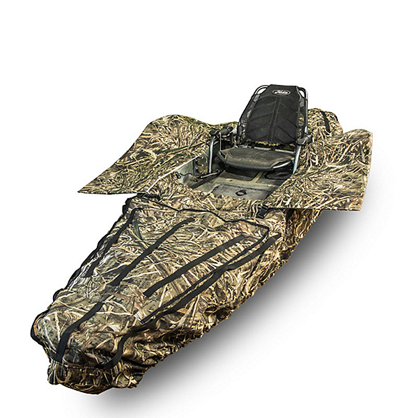 YakGear Ambush Camo Kayak Cover and Hunting Blind, , 600