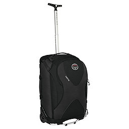 Osprey Ozone Convertible 22 Wheeled Luggage, Black, 256