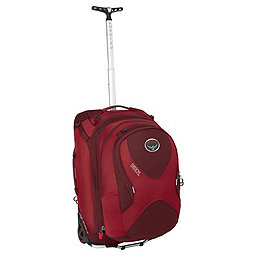Osprey Ozone Convertible 22 Wheeled Luggage, Hoodoo Red, 256