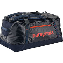 Patagonia Black Hole Duffel 90L, Navy Blue-Paintbrush Red, 256
