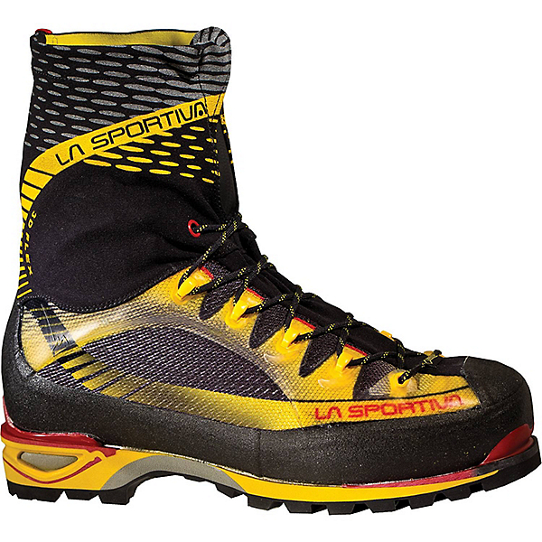 La Sportiva Trango Ice Cube GTX - Mens - 45.5/Black-Yellow, Black-Yellow, 600