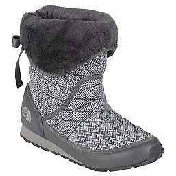 The North Face Thermoball Roll-Down Bootie II - Womens, TNF Black-Plum Kitten Grey, 256