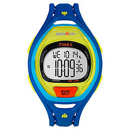 Timex Ironman Sleek 50 Lap, Blue Color Block, 256