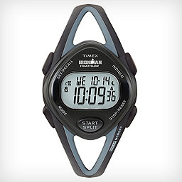 Timex Ironman Sleek 50 Lap, Black Resin, 256