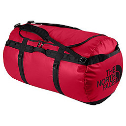 The North Face Base Camp Duffel, TNF Red-TNF Black, 256