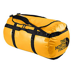 The North Face Base Camp Duffel, Summit Gold-TNF Black, 256