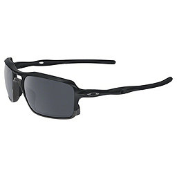 Oakley Triggerman Sunglasses, Matte Black w-Black Iridium, 256