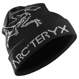 Arc'teryx Rolling Word Hat, Black-Anvil Grey, 256