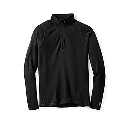 Smartwool NTS Mid 250 Zip T - Men's, Black, 256