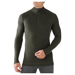 Smartwool NTS Mid 250 Zip T - Men's, Olive Heather, 256