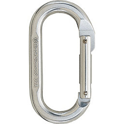 Black Diamond Oval Carabiner, Polished, 256