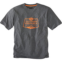 Outdoor Research Bowser Tee - Men's, Charcoal Heather, 256