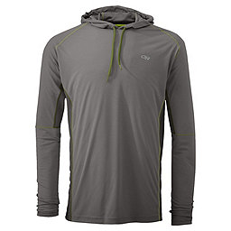 Outdoor Research Echo Hoody - Men's, Pewter-Lemongrass, 256