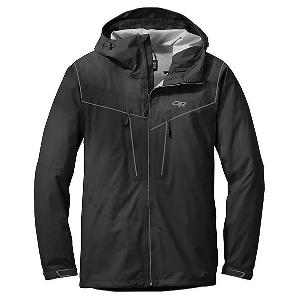 Outdoor Research Precipice Jacket - Men's - MD/Black, Black, 600