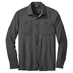 Outdoor Research Wayward Sentinel L/S Shirt, Charcoal, 256