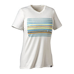 Patagonia Cap Daily Graphic T-Shirt - Women's, Horizon Line-Up- White, 256