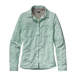 Patagonia L/S Sol Patrol Shirt - Women's, Lite Distilled Green, 256