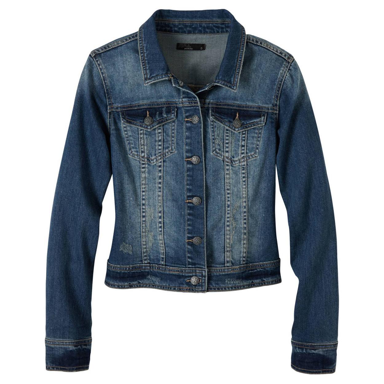 Dree Jacket Wms Antique Blue