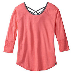 Smartwool Emerald Valley Tee - Women's, Bright Coral, 256