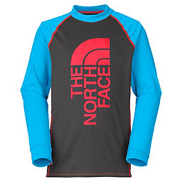The North Face Dog Patch LS Rash Guard - Boys', Asphalt Grey, 256