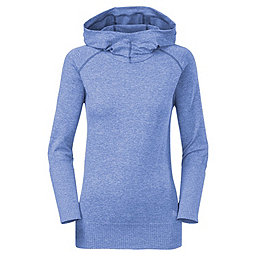 The North Face Go Seamless Pullover Hoodie - Women's, Coastline Blue Heather, 256