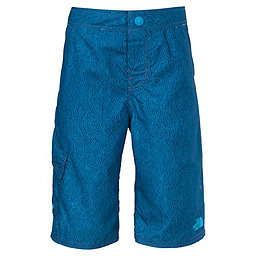 The North Face Markhor Hike/Water Short - Boys', Pelagic Blue Ripple Print, 256