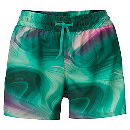 The North Face Printed Class V Short - Women's, Teal Blue Water Swirl Prt, 256