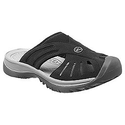 KEEN Rose Slide - Women's, Black-Neutral Gray, 256