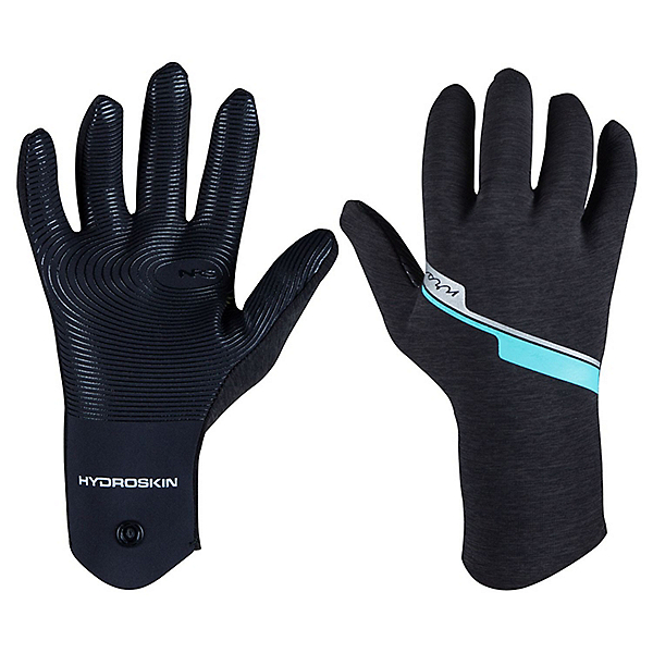 NRS HydroSkin Gloves - Women, Gray Heather, 600