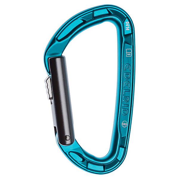 Edelrid Pure Slider Locking Carabiner, icemint, 600