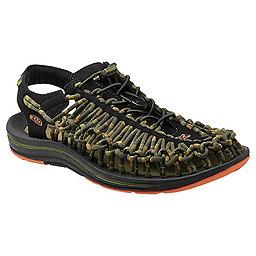 KEEN Uneek Stripes Sandal - Men's, Orange Ochre-Raya, 256