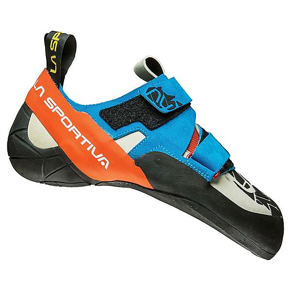 La Sportiva Otaki Rock Shoe - Men's - 44.5/Blue-Flame, Blue-Flame, 600