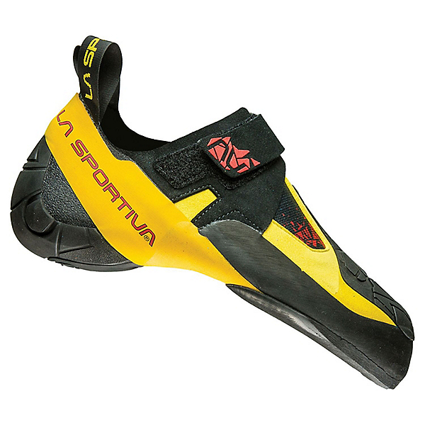 La Sportiva Skwama Rock Shoe - Men's - 42/Black-Yellow, Black-Yellow, 600