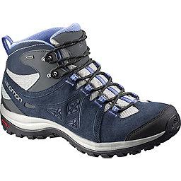 Salomon Ellipse 2 Mid GTX Hiking Boot - Women's, Titanium-Deep Blue-Petunia Blu, 256