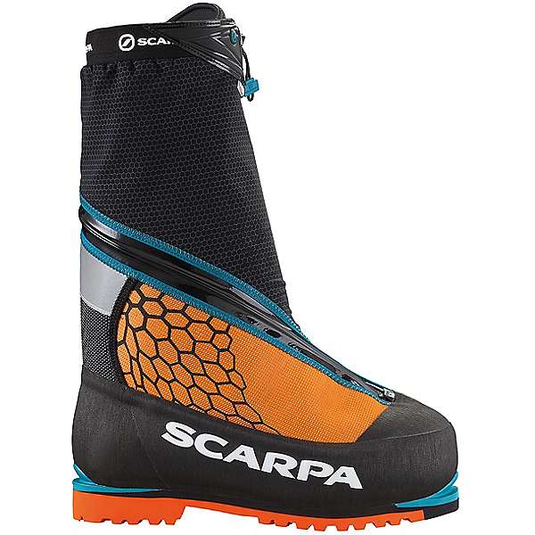 Scarpa Phantom 8000 Mountaineering Boots - Men's - 46/Black-Orange, Black-Orange, 600