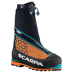 Scarpa Phantom 6000 Mountaineering Boots - Men's, Black-Orange, 256