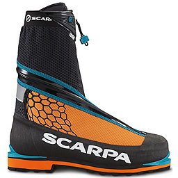 Scarpa Phantom Tech Mountaineering Boot - Men's, Black-Orange, 256