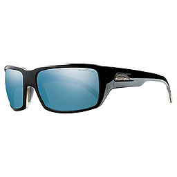 Smith Touchstone Sunglasses, Black-Polar Blue Mirror, 256