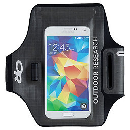 Outdoor Research Sensor Dry Pocket Armband, Charcoal, 256