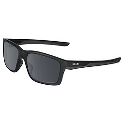 Oakley Mainlink Sunglasses, Matte Black w- Blk Irid Polar, 256