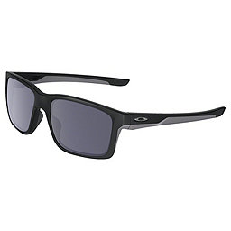 Oakley Mainlink Sunglasses, Matte Black w-Grey, 256