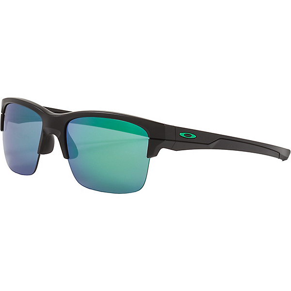 Oakley Thinlink Sunglasses - Matte Black w-Jade Iridium, Matte Black w-Jade Iridium, 600