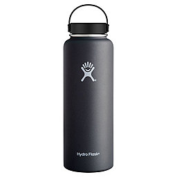 Hydro Flask Hydro Flask Wide Mouth, Black, 256