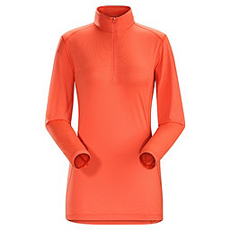 Arc'teryx Phase SL Zip Neck LS Women's, Orange Julia, 256
