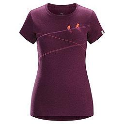 Arc'teryx Up Slope Short Sleeve T-shirt - Women's, Heathered Lt Chandra, 256