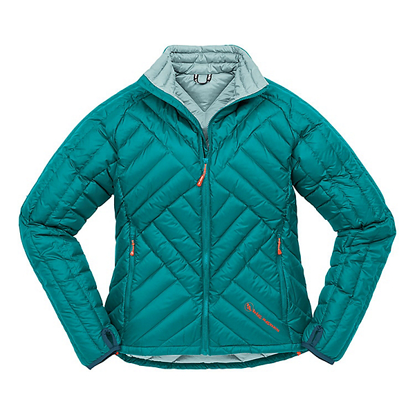 Big Agnes Hole in the Wall Jacket Women's - LG/Storm-Blue Surf, Storm-Blue Surf, 600